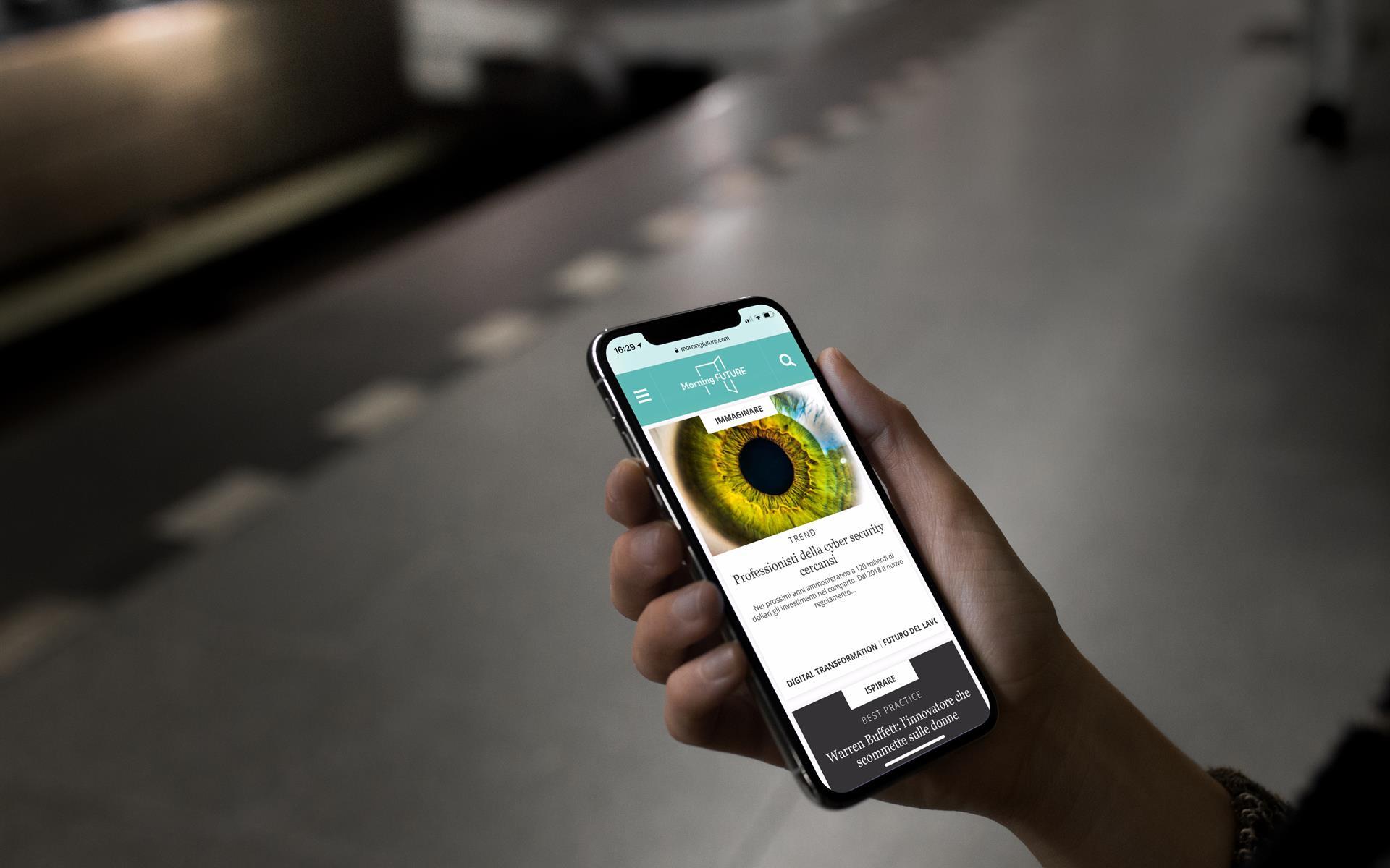 Iphone X In The Underground
